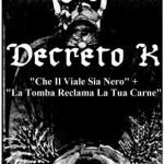 Decreto k