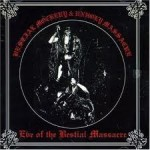 BESTIAL MOCKERY / UNHOLY MASSACRE - Eve of the Bestialial Massacre Split LP 1