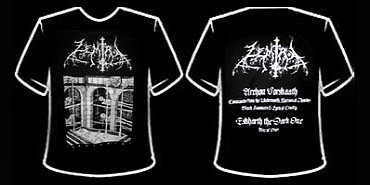 ZEMIAL  Necrolatry,  T-SHIRT 1