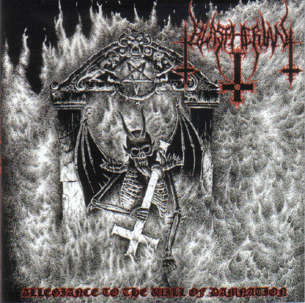 BLASPHERIAN – Allegiance To The Will Of Damnation CD