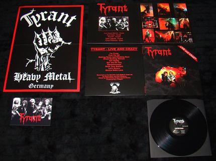Tyrant live lp