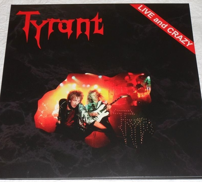 tyrant-live-and-crazy-lp-vinil