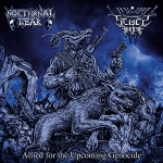 SEGES FINDERE_NOCTURNAL FEAR - Allied for the Upcoming Genocide SPLIT CD