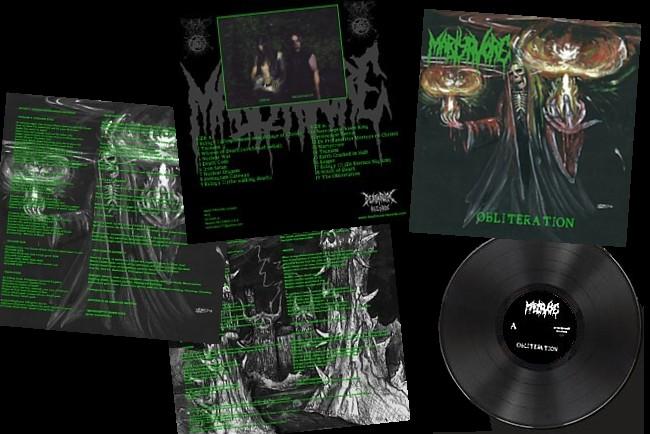 Martyrvore  template black vinyl