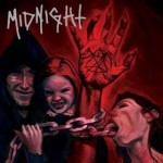 Midnight (9) ‎– No Mercy For Mayhem  oxblood