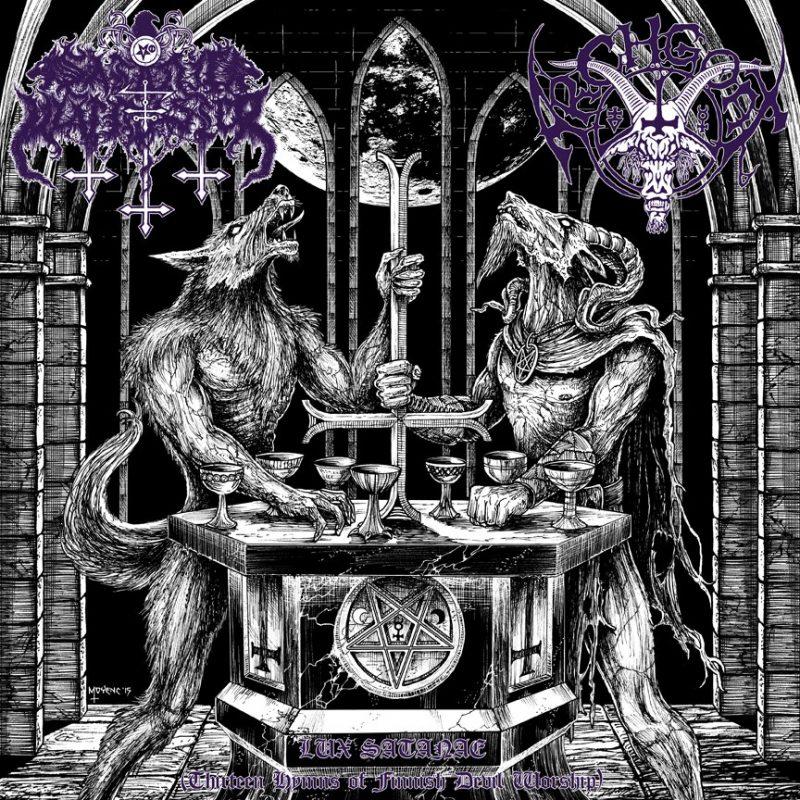 SATANIC WARMASTER  ARCHGOAT – Lux Satanae CD