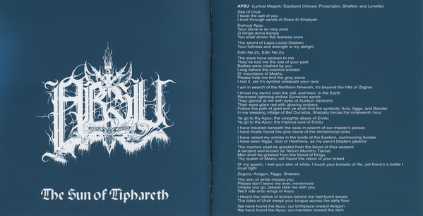 Absu - The Sun Of Tipharet