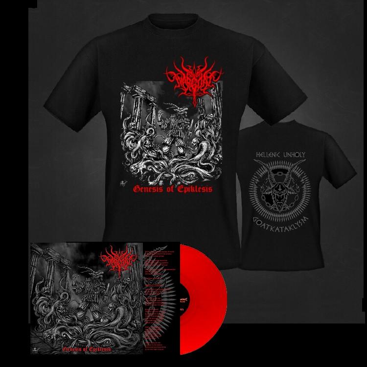 Wargoat genesis  red vinyl