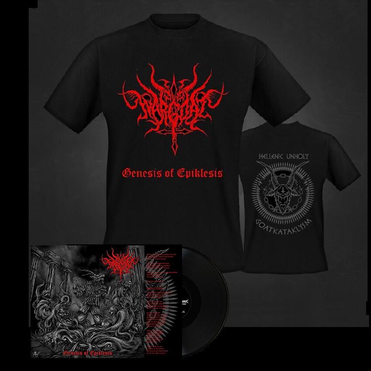 Wargoat logo black vinyl