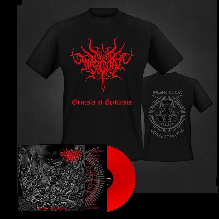 Wargoat logo red vinyl
