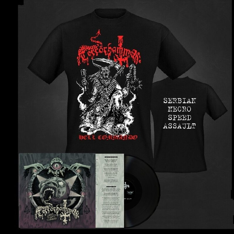 Terrorhammer LP black bundle