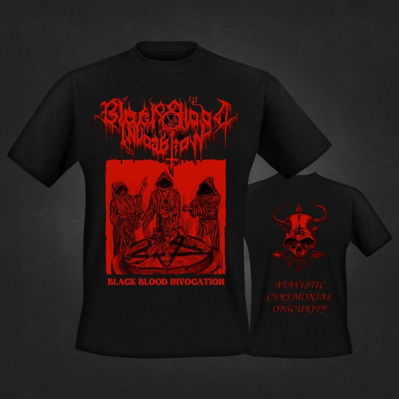 Black Blood Invocation tt-shirt