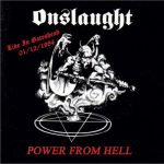 ONSLAUGHT - Live in Gateshead, 01-12-1984