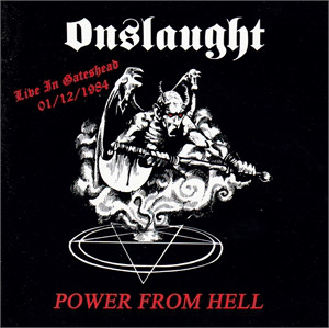 ONSLAUGHT – Live in Gateshead, 01-12-1984