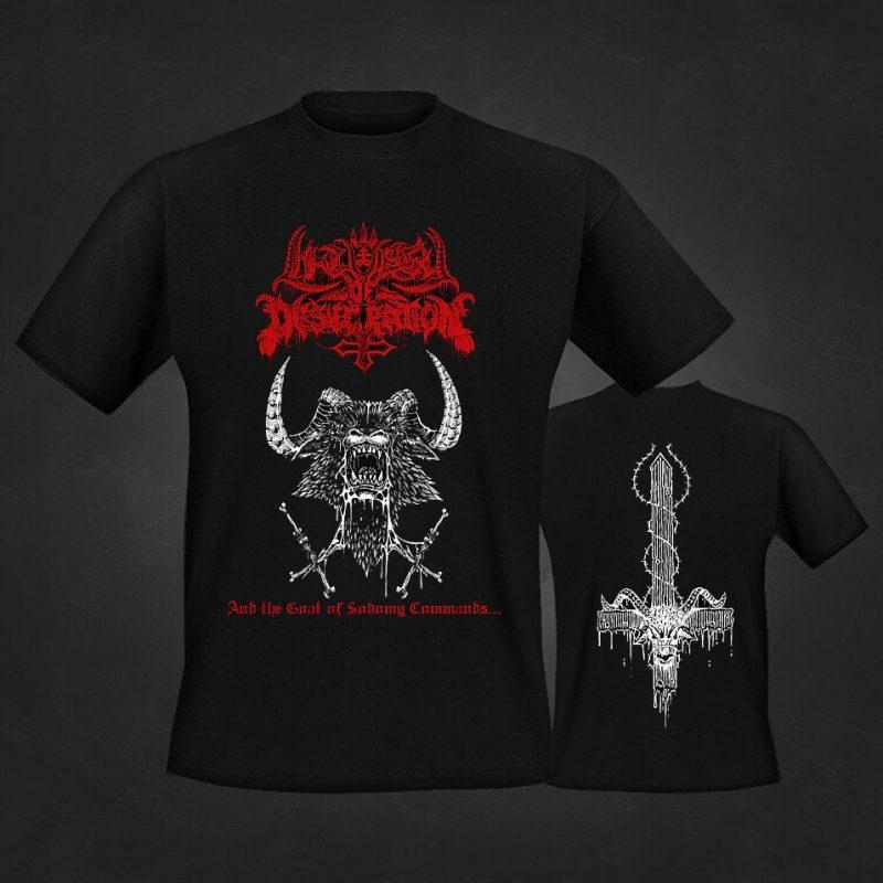Liturgy of Desecration t-shirt