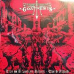GOATPENIS - LIVE IN BRAZILIAN RITUAL - THIRD ATTACK - LP + POSTER