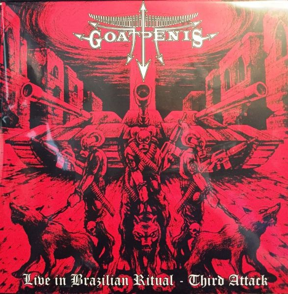 GOATPENIS – LIVE IN BRAZILIAN RITUAL – THIRD ATTACK – LP + POSTER