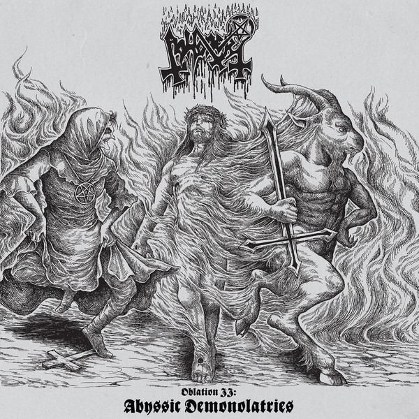 Abhorer ‎– Oblation II Abyssic Demonolatries