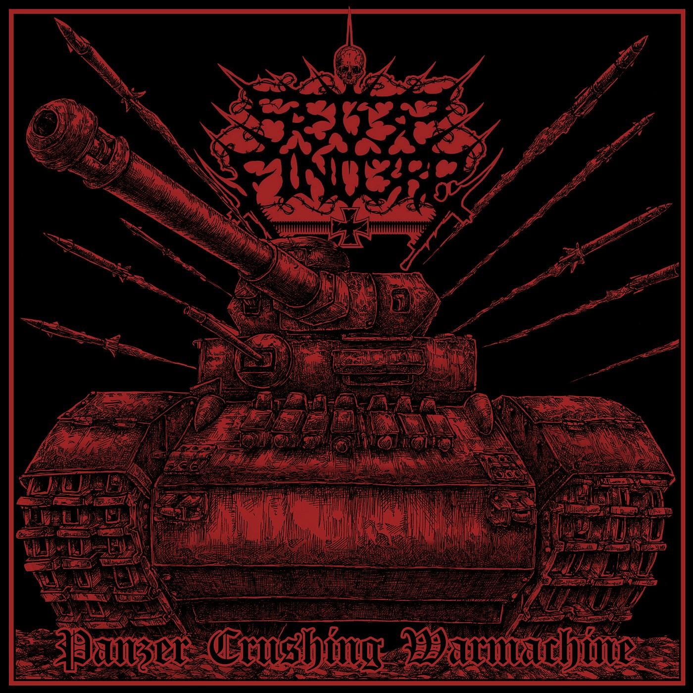 SF – Panzer Crushing Warmachine Cover bandcamp