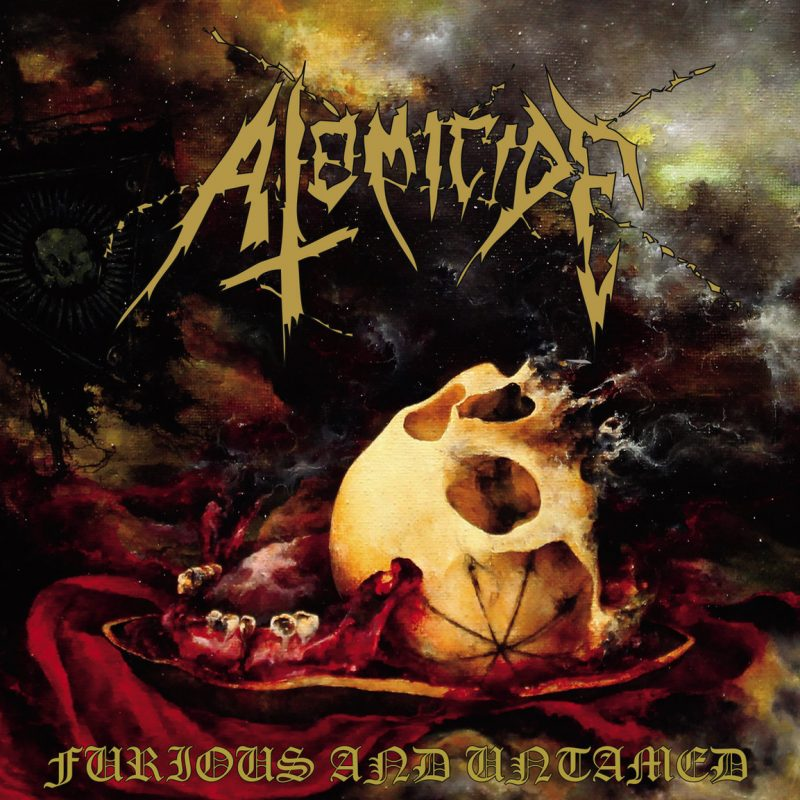 ATOMICIDE – FURIOS AND UNTAMED CD DIGIPACK EP+ REH 2018